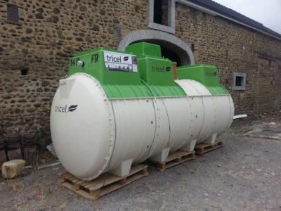 Micro station d'épuration Saint-Martin-de-Seignanx