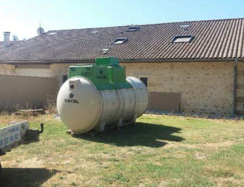 Micro station d'épuration à Cavignac