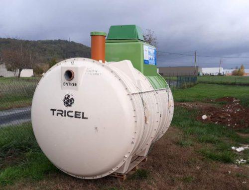 Livraison à Montignac Micro station épuration Tricel