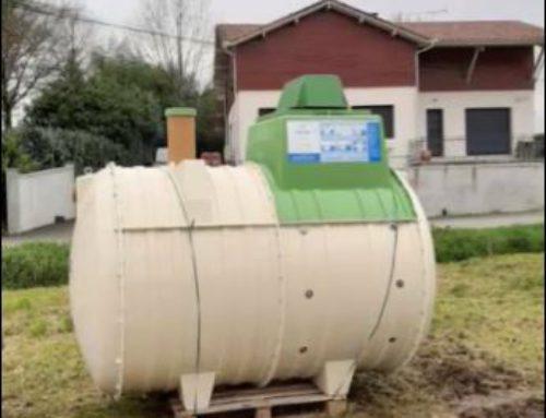 Livraison à Begaar d'une micro station d'épuration