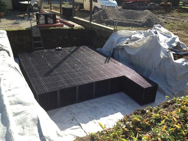 Bassin de r tention enterr pour maison individuelle - Bassin de retention maison individuelle ...